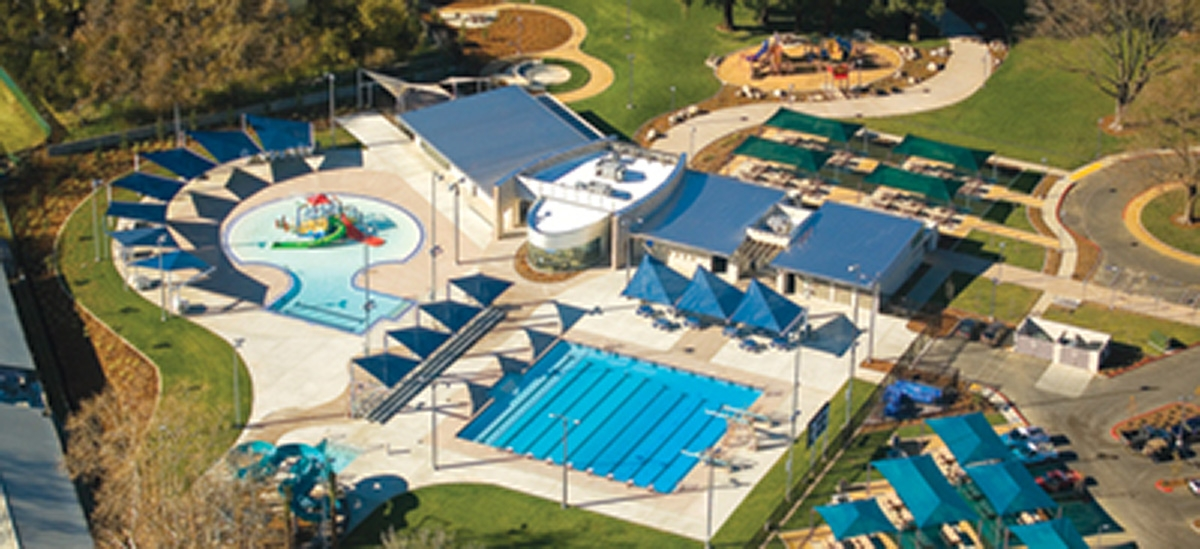 City of yuba city gauche park aquatic facility for Pool builders yuba city ca